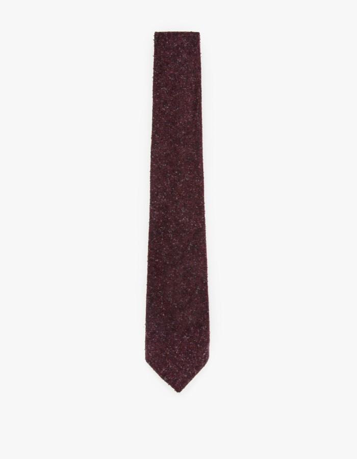 81d69c109da1 Apolis Wool Tie in Cranberry in Purple for Men - Lyst