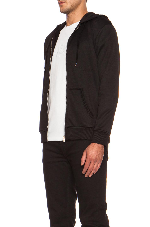 Black and white zip up hoodie australia