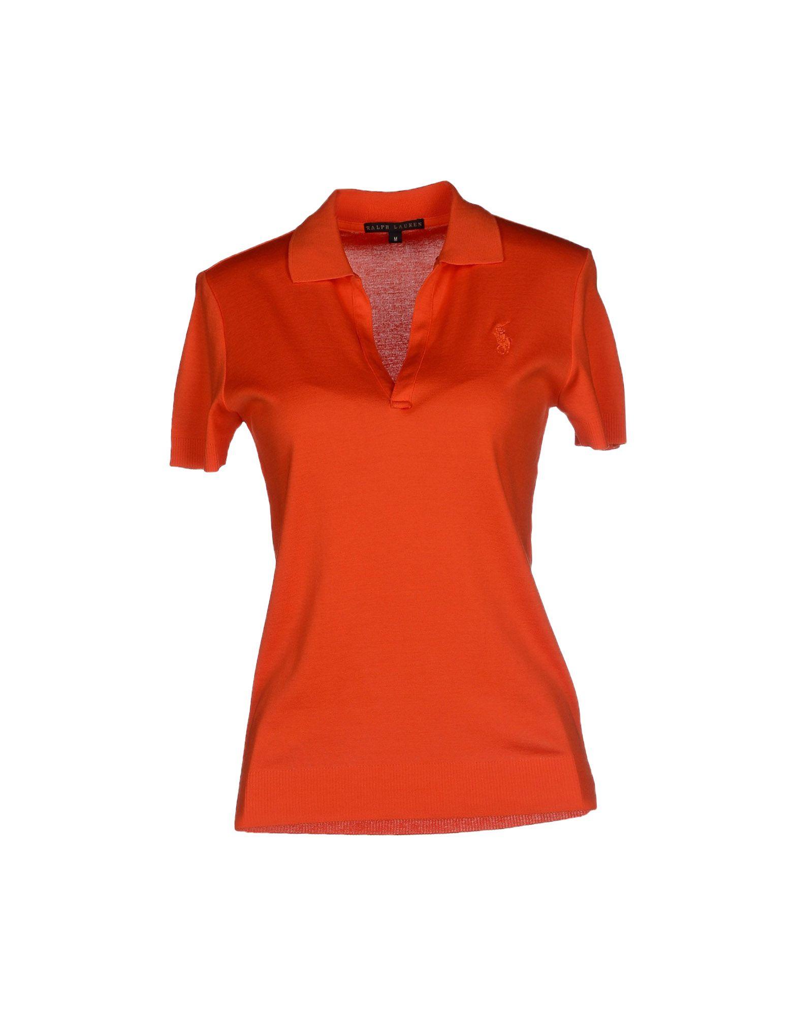 Ralph lauren black label polo shirt in orange for Ralph lauren black label polo shirt