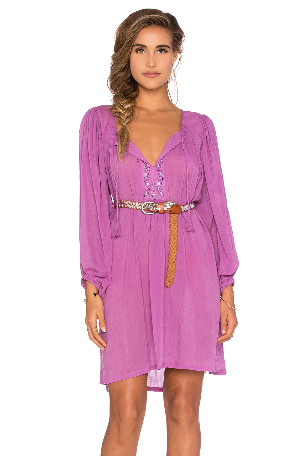 Lyst - Spell & the gypsy collective Wild Orchid Smock ...