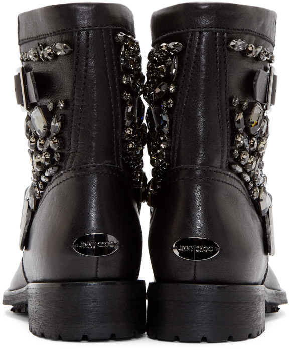 30b27d8a727 what to wear jimmy choo biker boots with straps | Simply Accessories