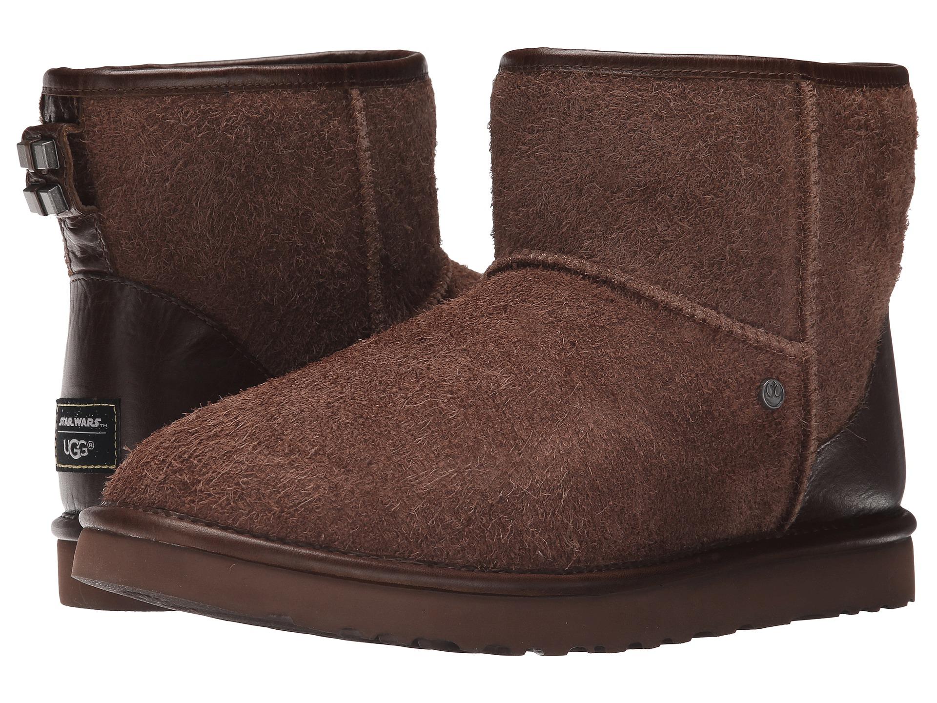 Mens Boots UGG Chewbacca Classic Mini Wookie