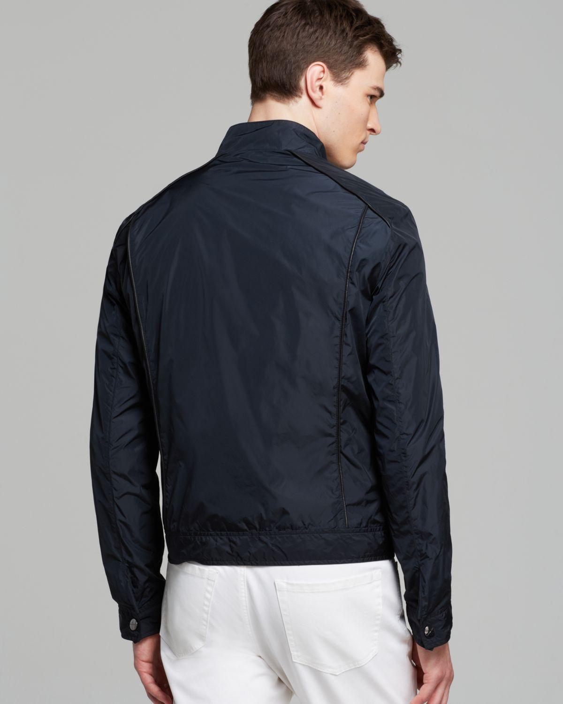 Michael kors Lightweight Jacket in Black for Men | Lyst