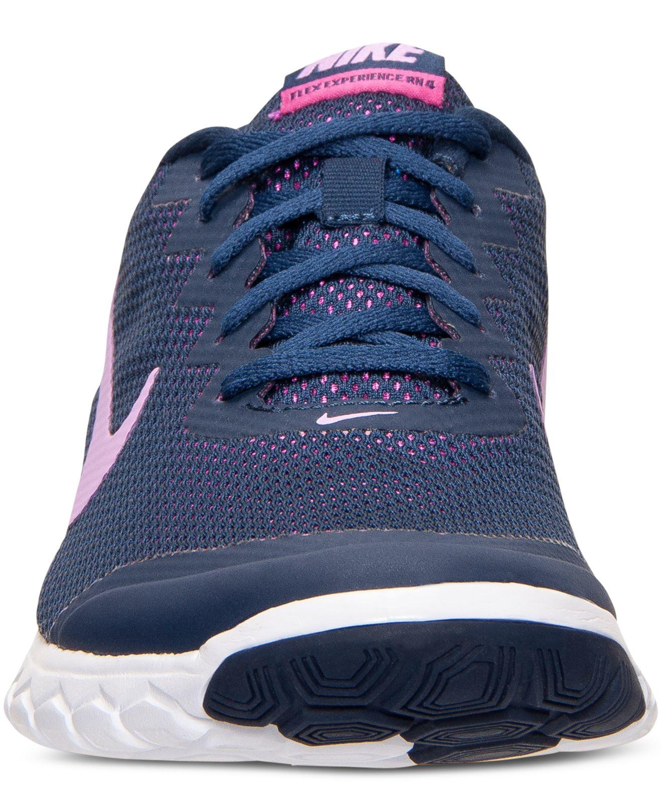 Lyst - Nike Women s Flex Experience Run 4 Running Sneakers From ... c773e81c2