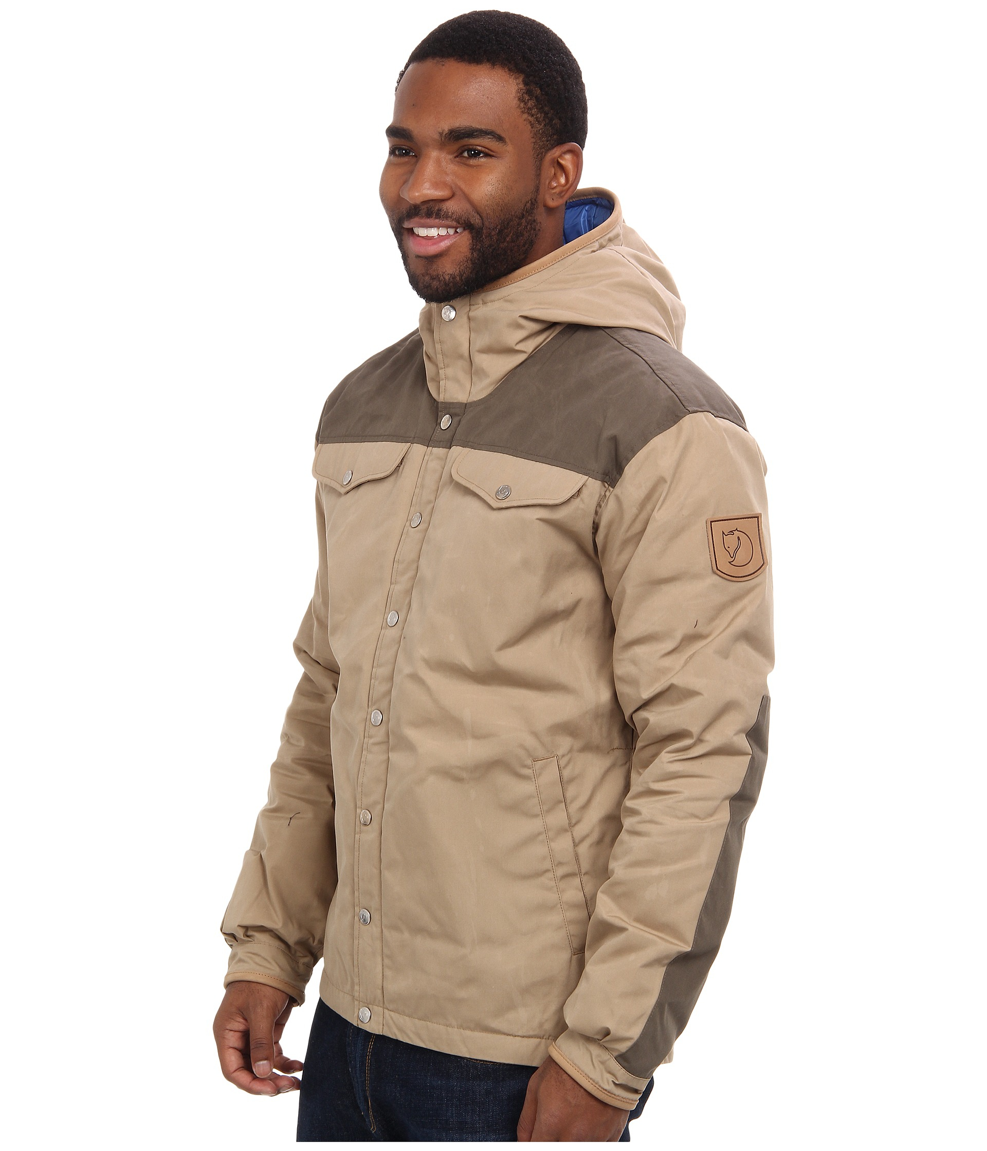 5d3bc374fb61 Lyst - Fjallraven Greenland No. 1 Down Jacket in Natural for Men