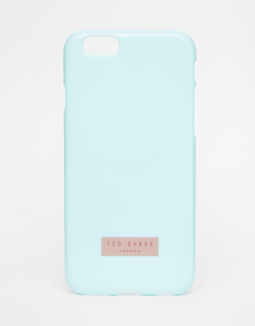 9761939e Ted Baker Rubber Iphone 6 Case in Green - Lyst