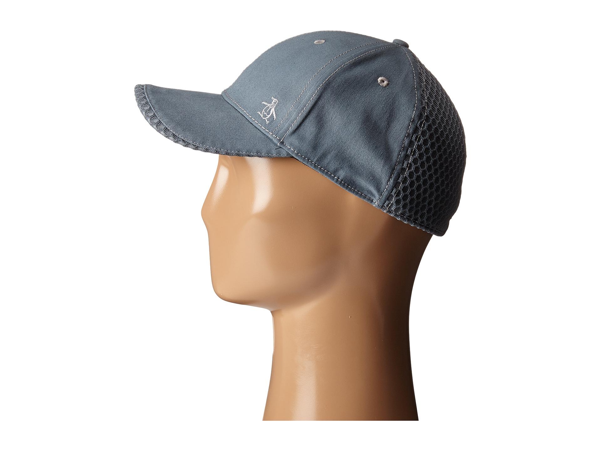 09833675b8a3e Lyst - Original Penguin Stretch Fit Baseball Cap in Gray for Men
