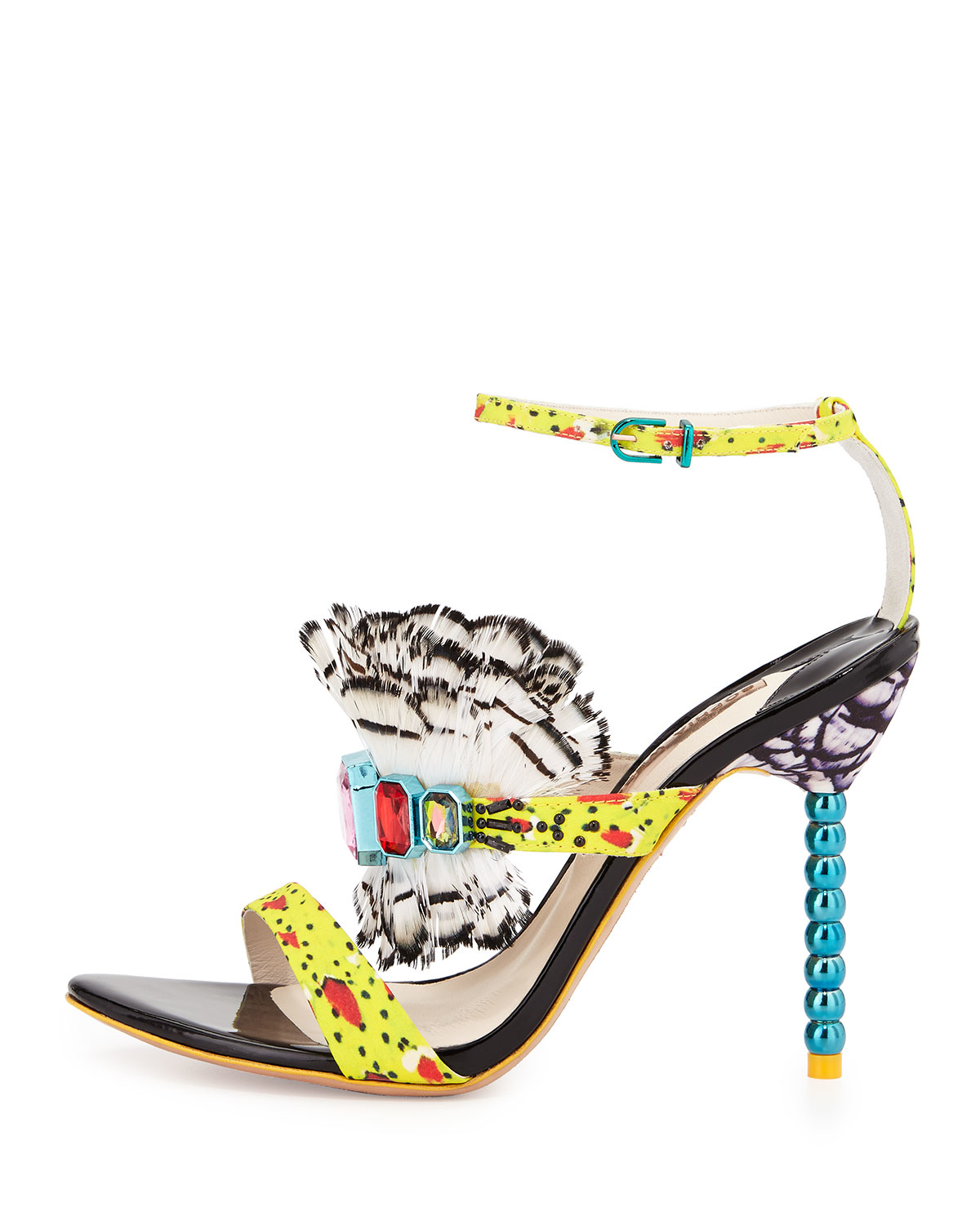 For Sale Cheap Price Rosalind Gem sandals - Black Sophia Webster Outlet Authentic Buy Cheap 2018 Clearance Fashionable 5ONoMj3Oj