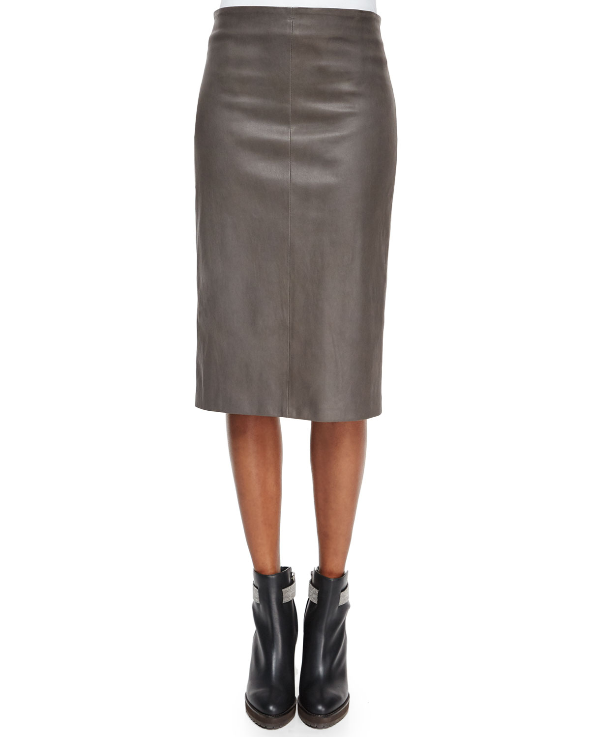 Free shipping BOTH ways on lamarque avana stretch leather pencil skirt, from our vast selection of styles. Fast delivery, and 24/7/ real-person service with a smile. Click or call