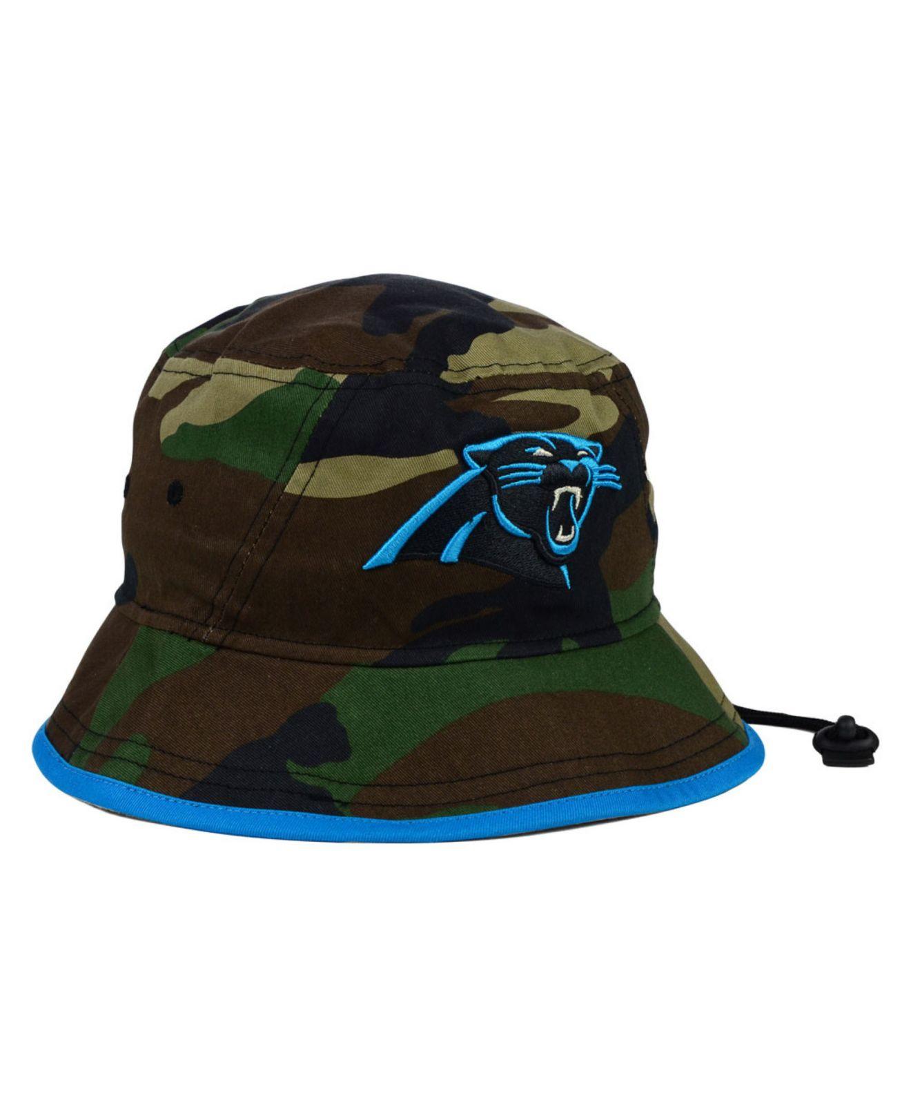 Lyst - KTZ Carolina Panthers Camo Pop Bucket Hat in Green for Men ce5901ffa