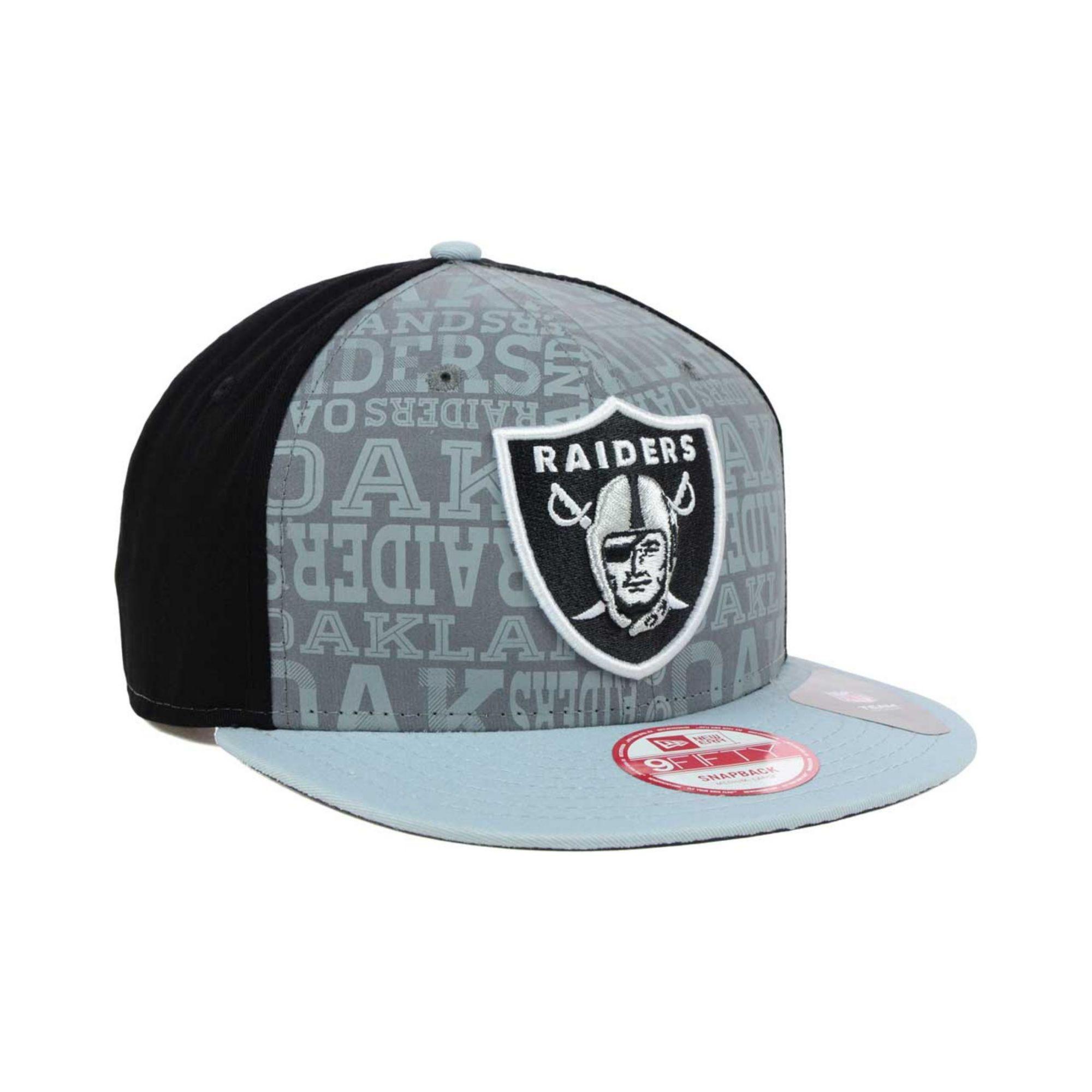 a8e7652e43b ... amazon lyst ktz oakland raiders nfl draft 9fifty snapback cap in black  3e9b6 43c4f ...