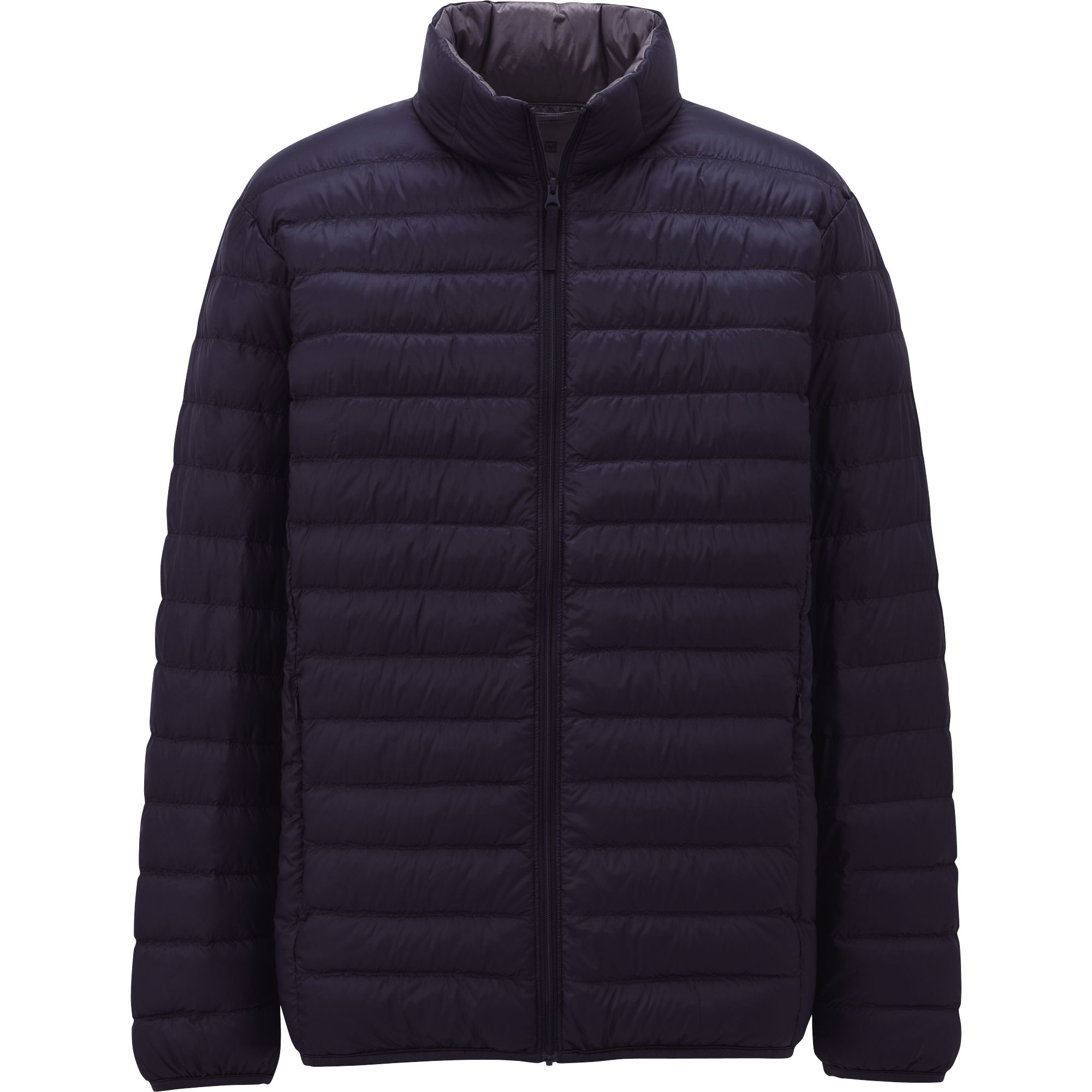uniqlo ultra light down jacket in black for men blue lyst. Black Bedroom Furniture Sets. Home Design Ideas