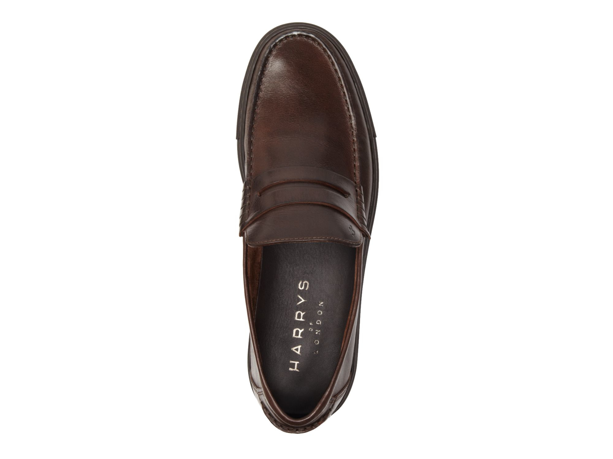 0240c157aff Lyst - Harry s Of London Dean Jones Basel Loafers With Trainer Sole ...