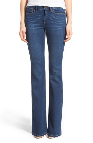 Nydj 'farrah' Stretch Flare Leg Jeans in Blue | Lyst