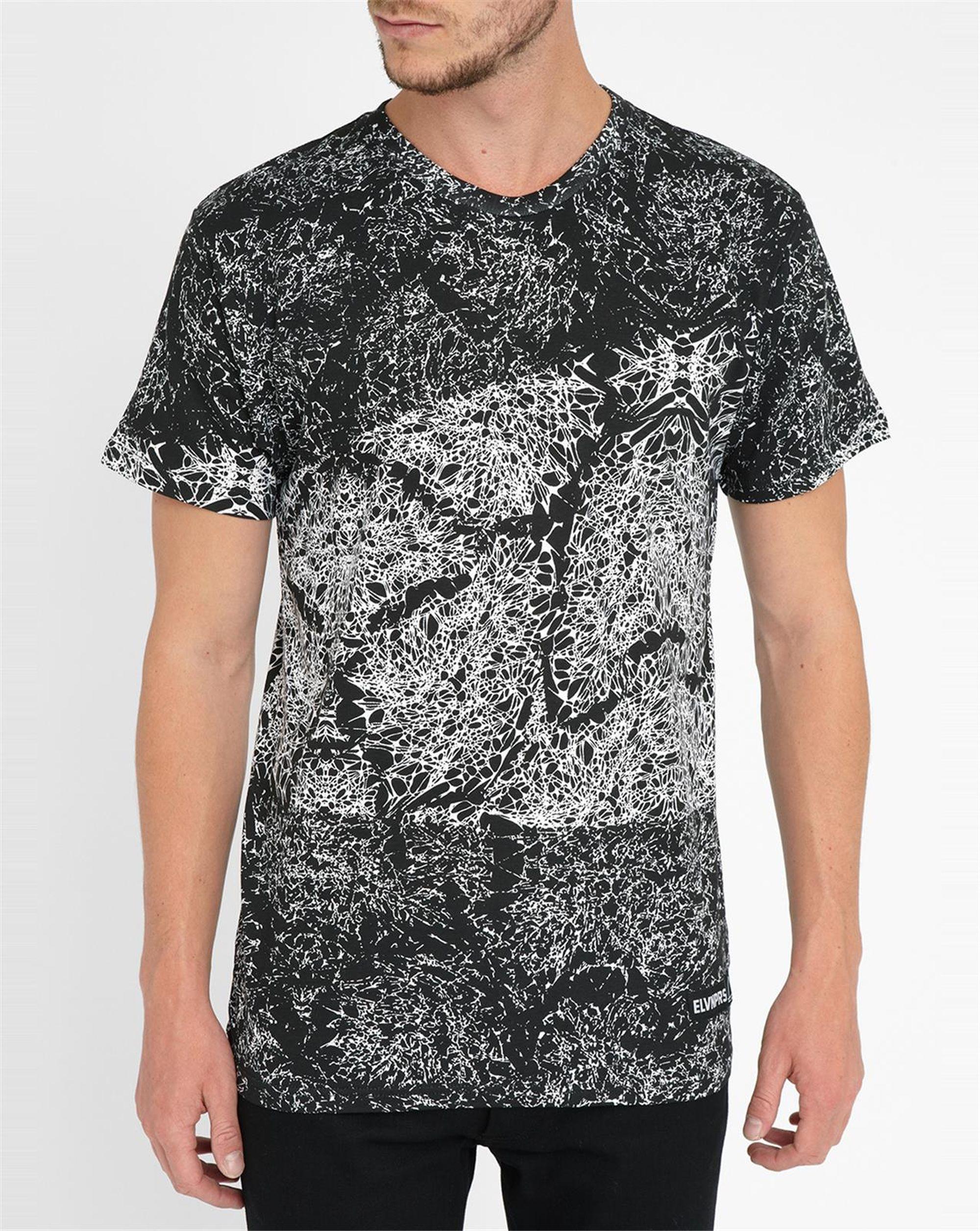 eleven paris graphic back numbers kanye t shirt in black for men lyst. Black Bedroom Furniture Sets. Home Design Ideas