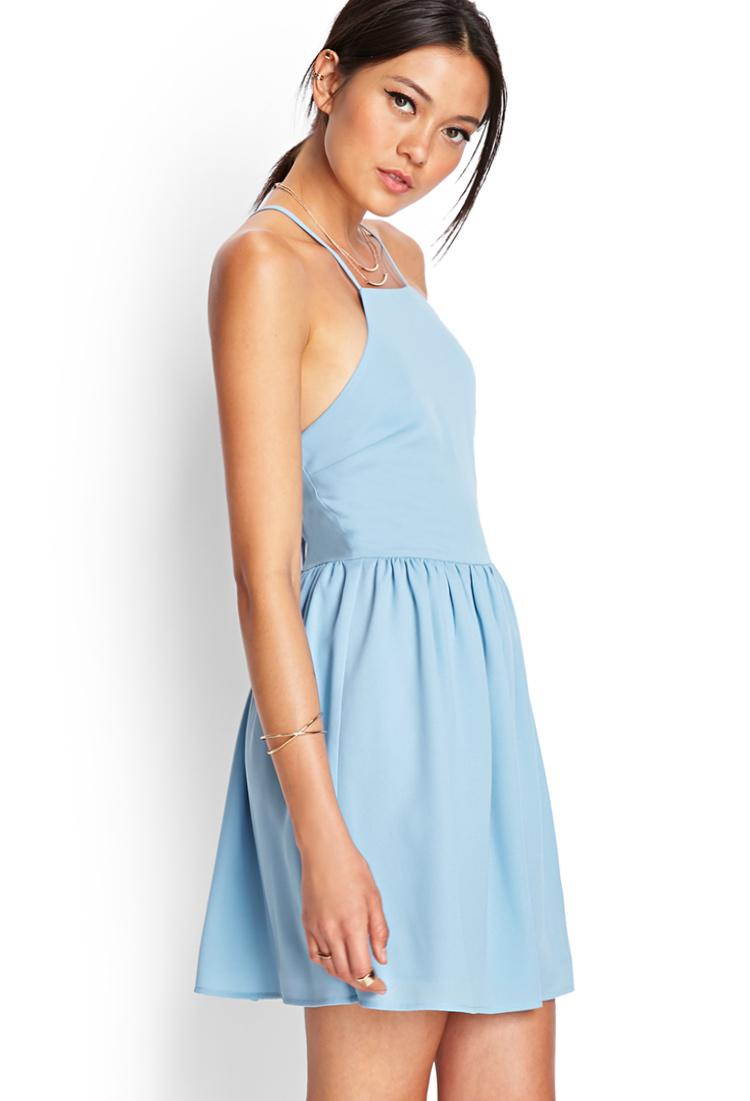 Forever 21 Blue Dresses for Girls