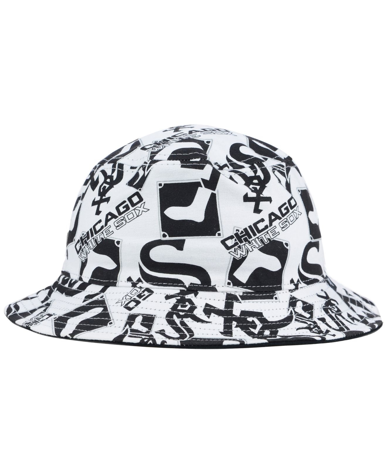 b3864e71b92fe ... discount lyst 47 brand chicago white sox bravado bucket hat in white  for men 8b8d8 7ae92