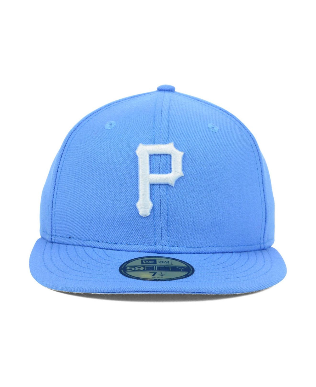 best website 65e0c 3f857 ... free shipping lyst ktz pittsburgh pirates c dub 59fifty cap in blue for  men 38fa6 55242