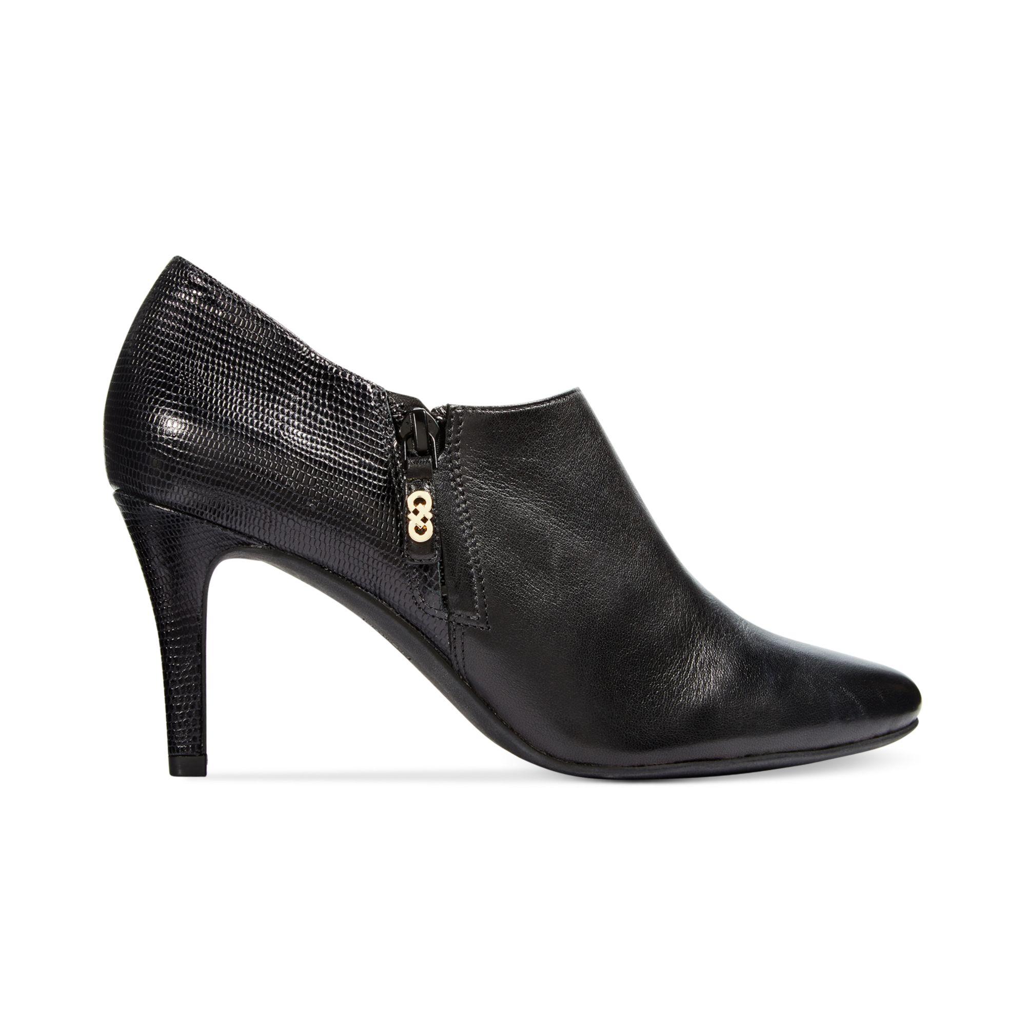 Cole Haan Womens Raquel Dress Booties In Black Lyst