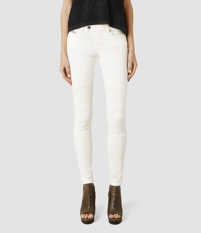 Off White Jeans Womens - Xtellar Jeans