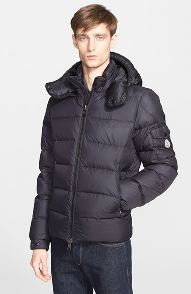 moncler himalaya jacket navy blue