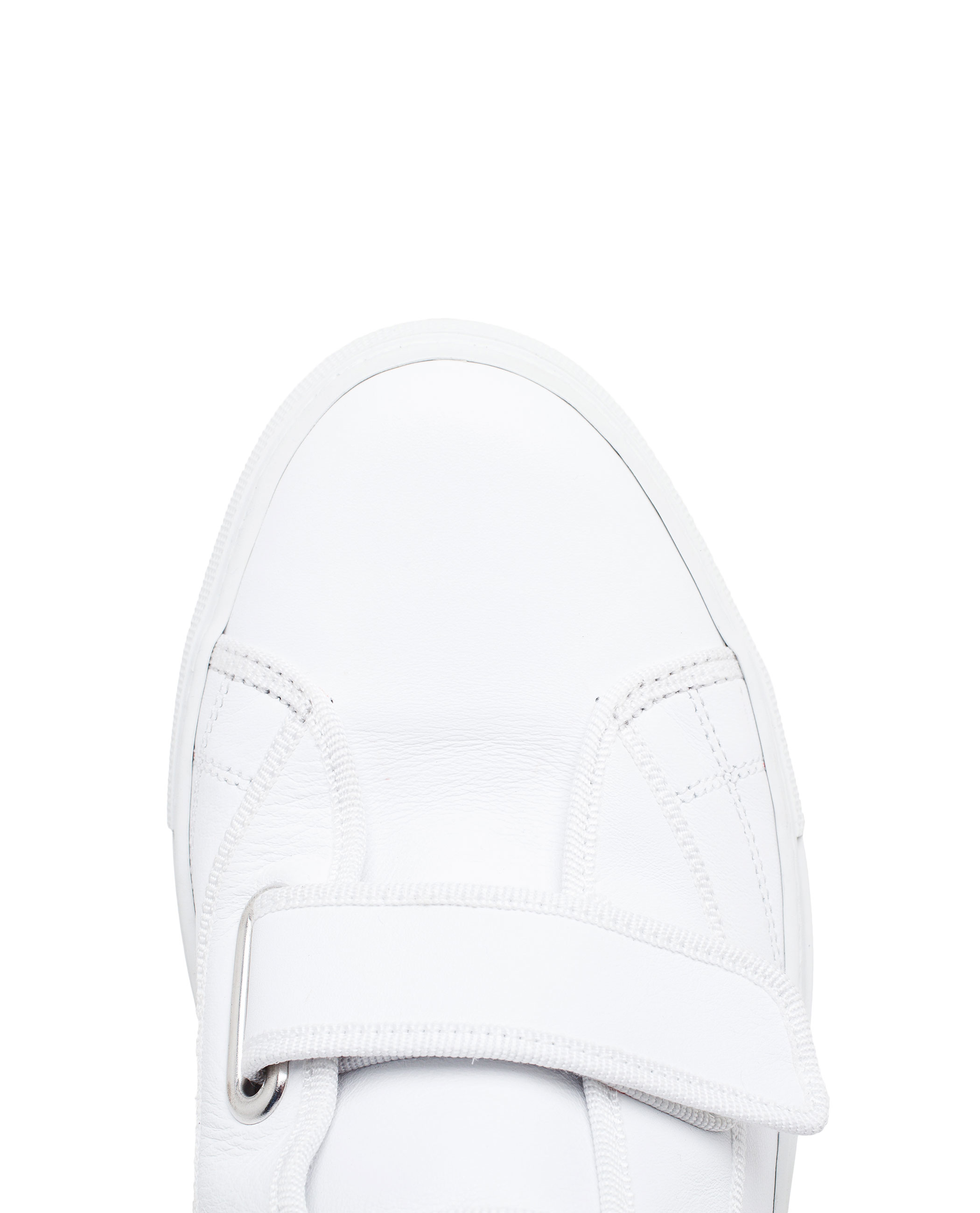 Raf simons White Leather High-tops in White for Men