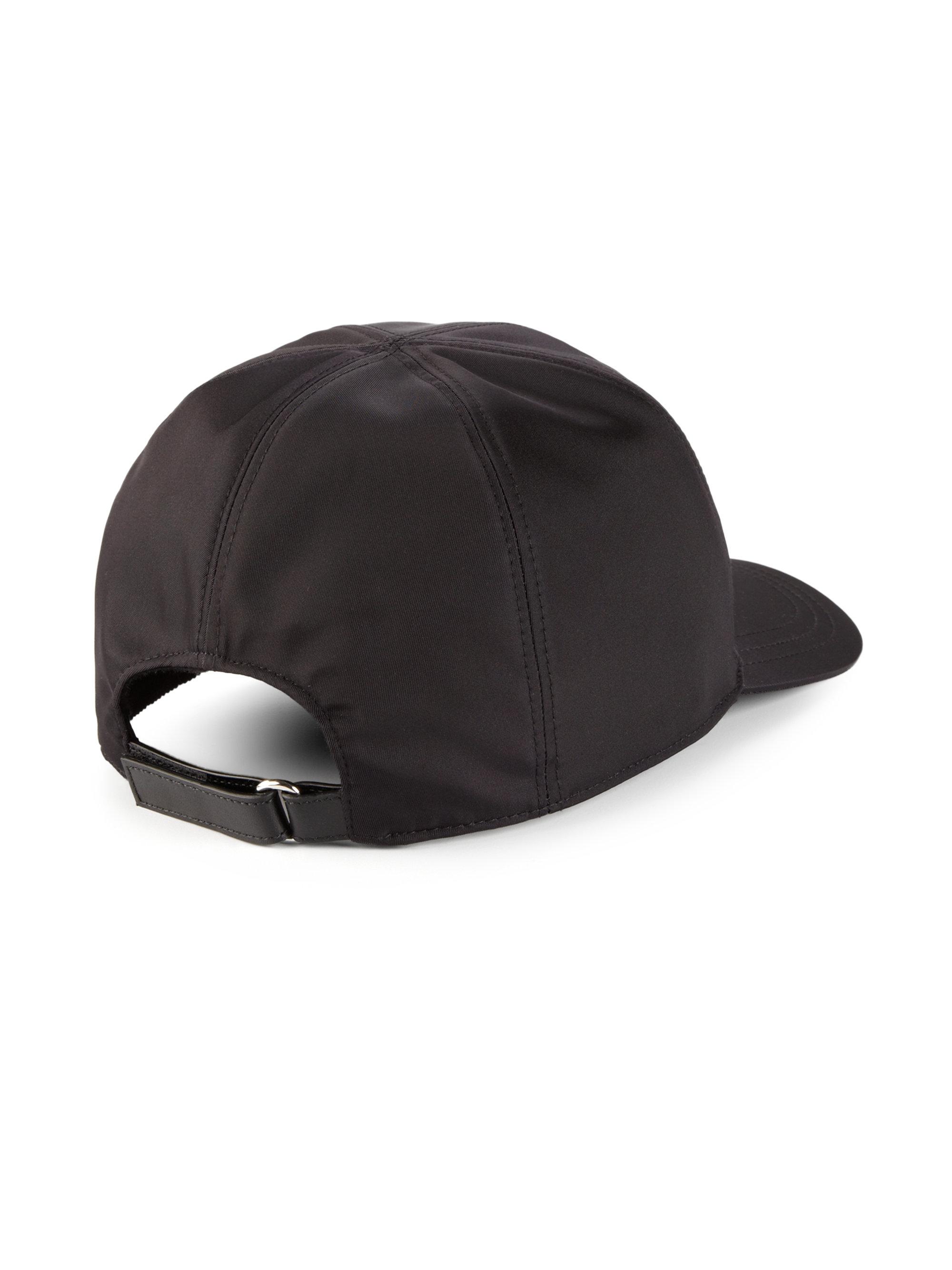nylon logo cap - Black Prada NgjbDj1xuG