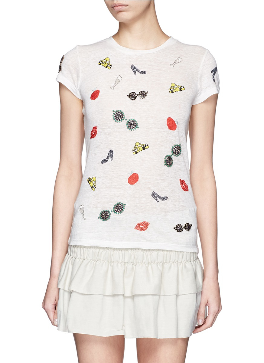 ALICE+OLIVIA Tee Shirt Fbe0LOz