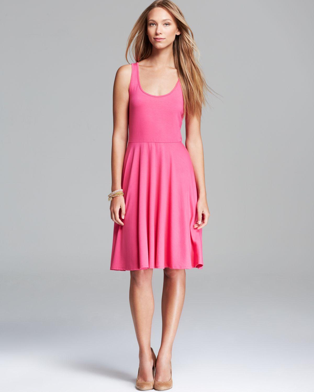Midi Tank Dress Coral
