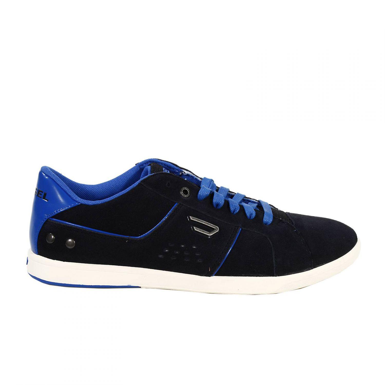 Diesel Shoes Gotcha Sneaker Crosta in Blue for Men (Black ...