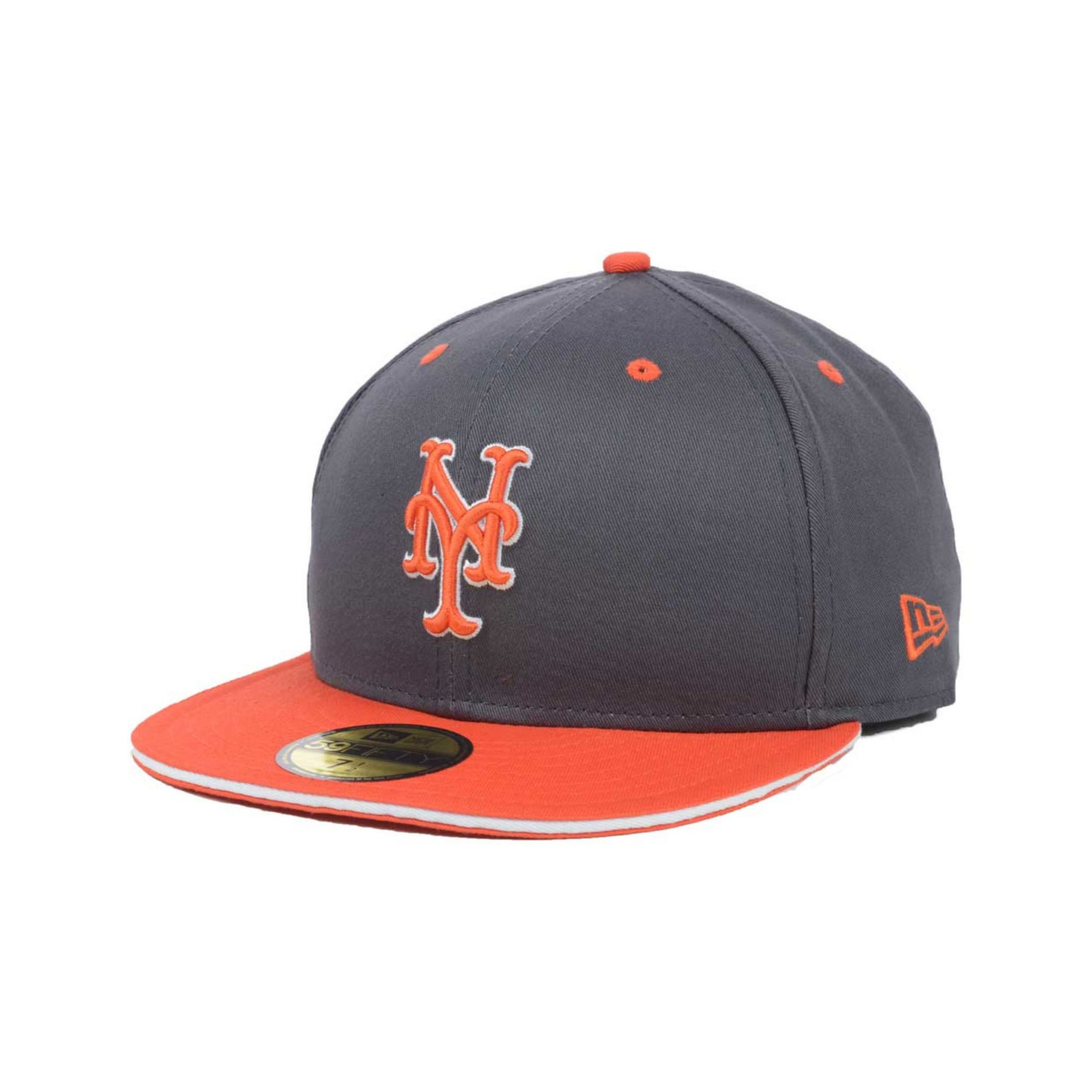 newest 893db 8d144 ... 9fifty mlb vintage snapback hat 71dc4 59844  50% off lyst ktz new york  mets opening day 59fifty cap in gray for men