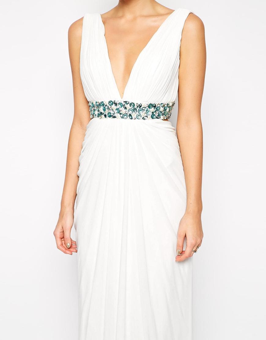 White bethan dress.