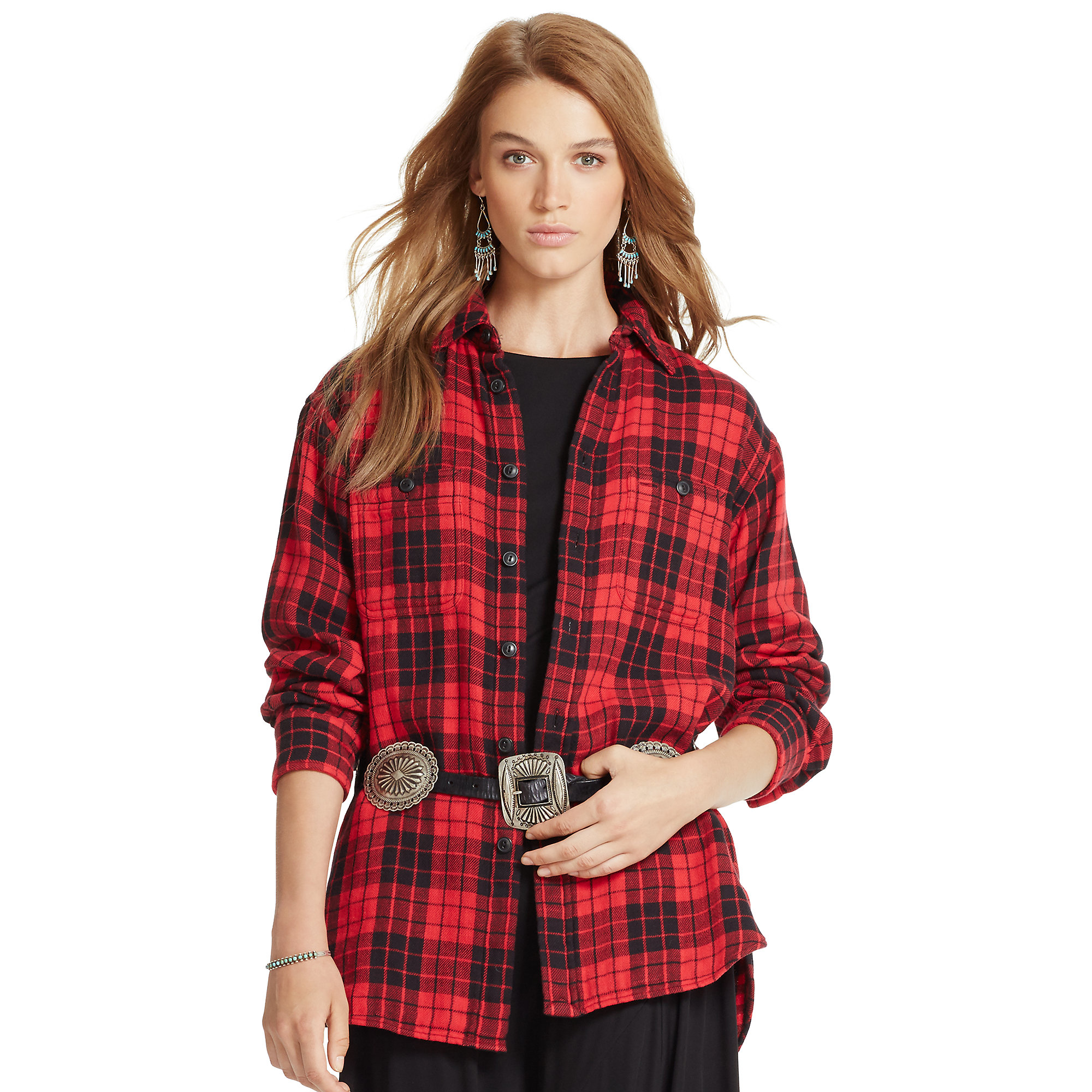 d0afee3cf2170c Black And Red Womens Plaid Shirt – EDGE Engineering and Consulting ...