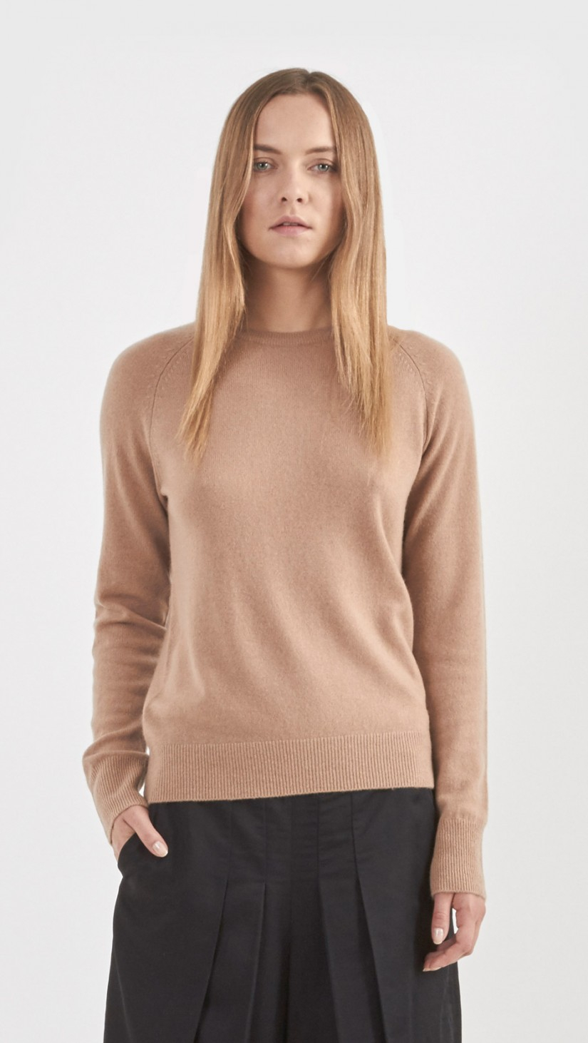 Equipment Sloane Cashmere Crew Neck Sweater in Natural | Lyst