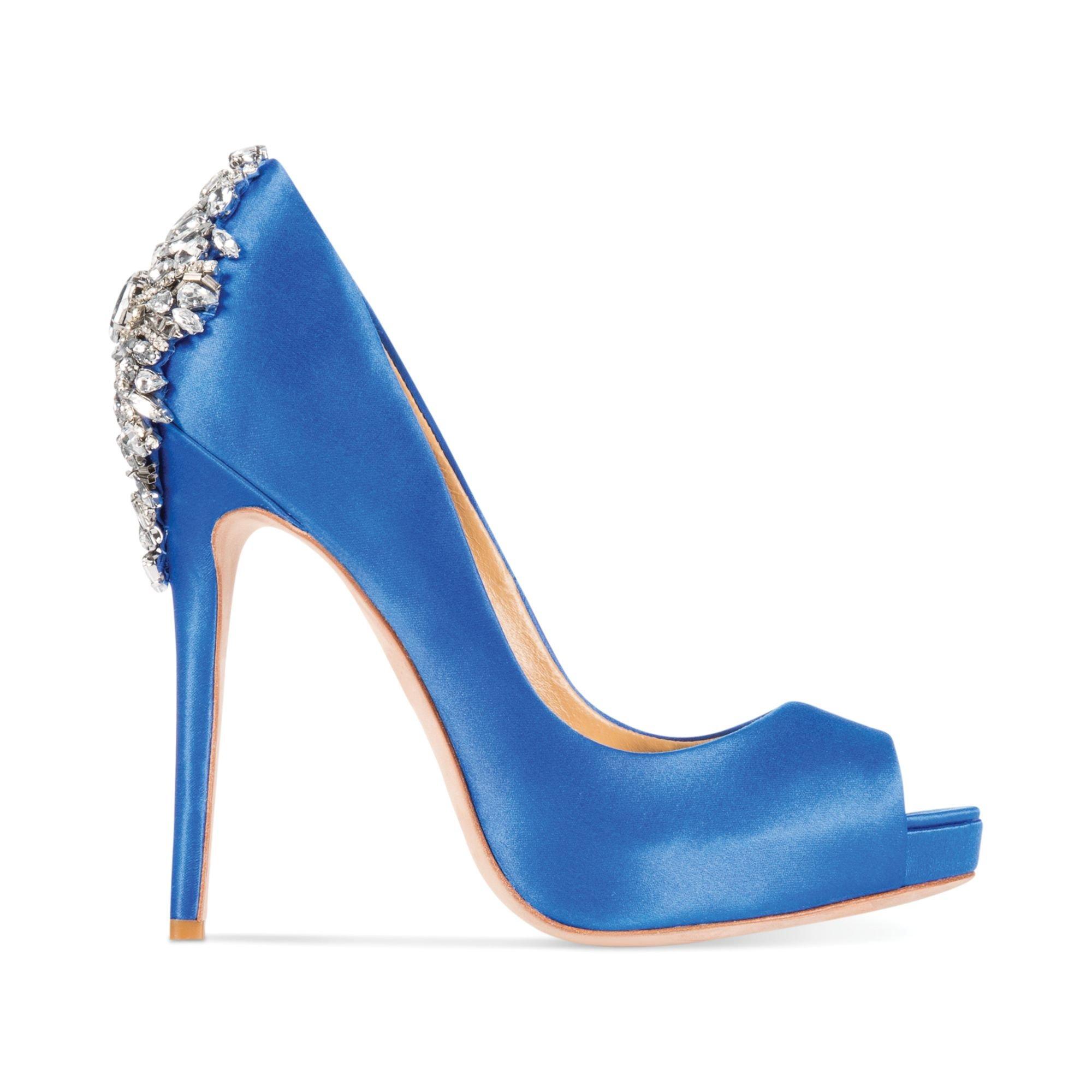 Badgley Mischka Shoes Royal Blue