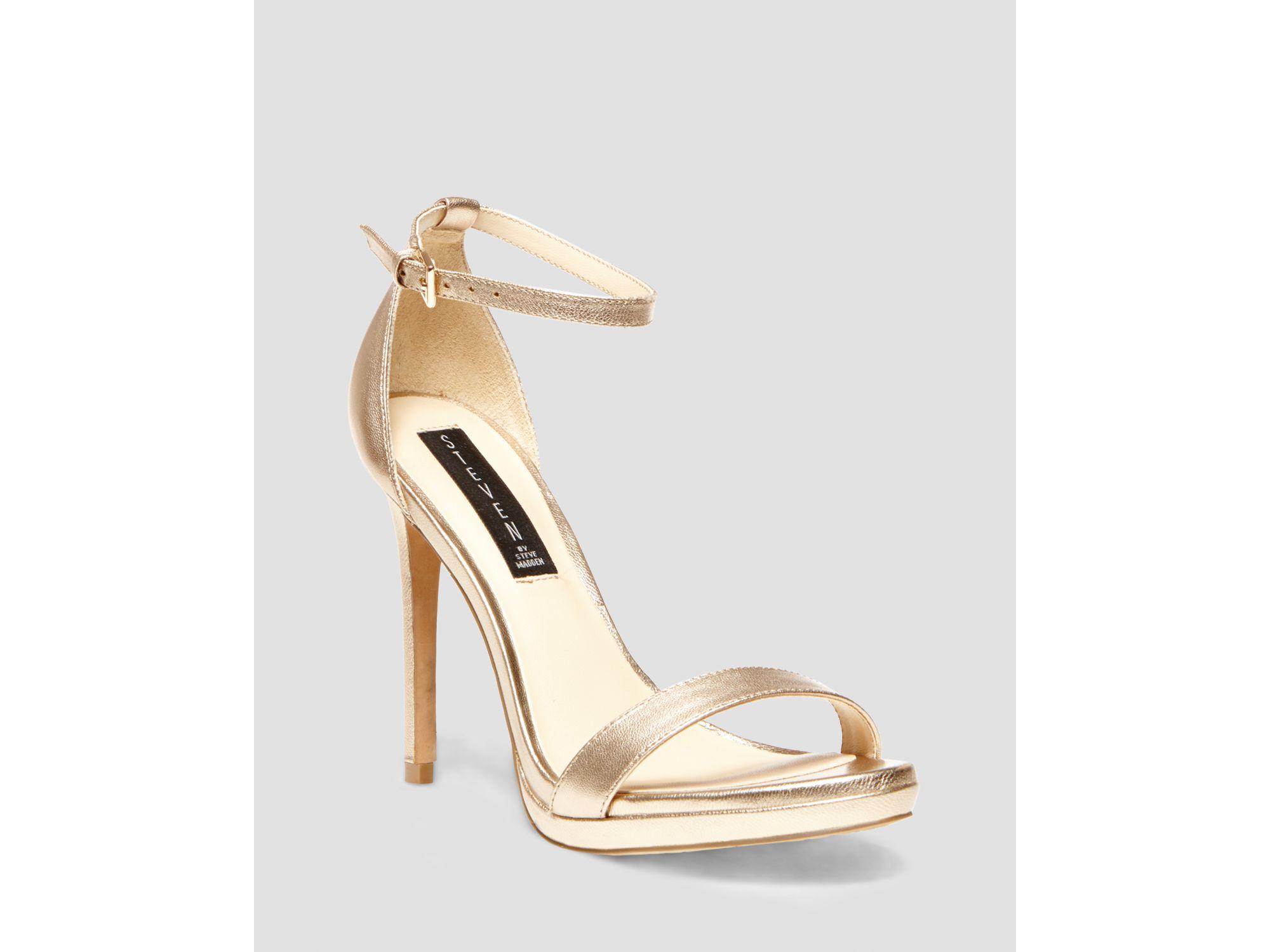 Steven by steve madden Sandals - Rykie Ankle Strap High Heel in ...