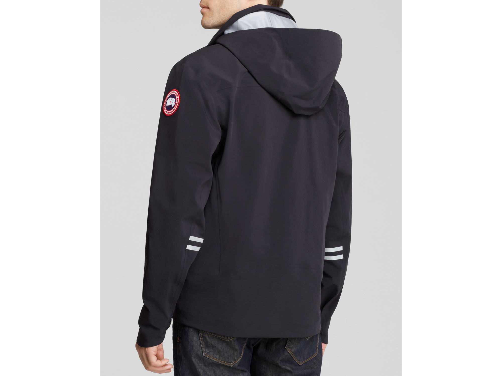 Canada Goose down sale authentic - Canada goose Ridge Shell Jacket in Black for Men | Lyst