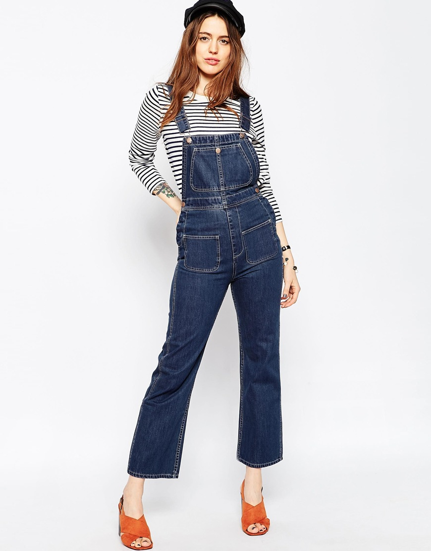 WOMEN'S DENIM OVERALLS Women's denim overalls have quickly become a workwear-chic staple in every gal's closet. That's why we've expanded our selection of overalls for women more than ever before. From classic indigo and chambray to modern neutrals, we've got the perfect denim overalls for women.