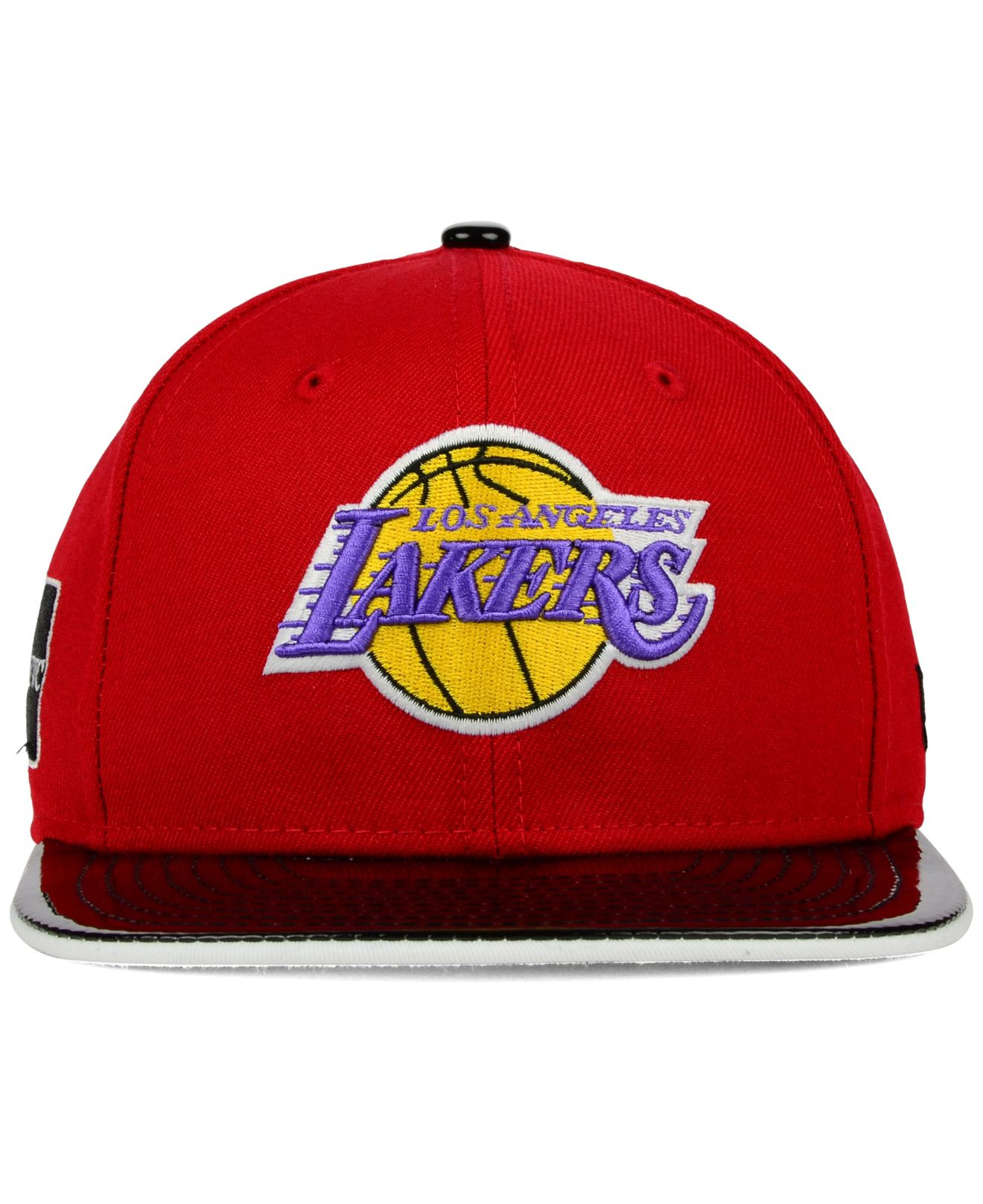outlet store 9be4d 9c08b coupon code for lyst ktz los angeles lakers bred hookup 9fifty snapback cap  in 417e3 177f8