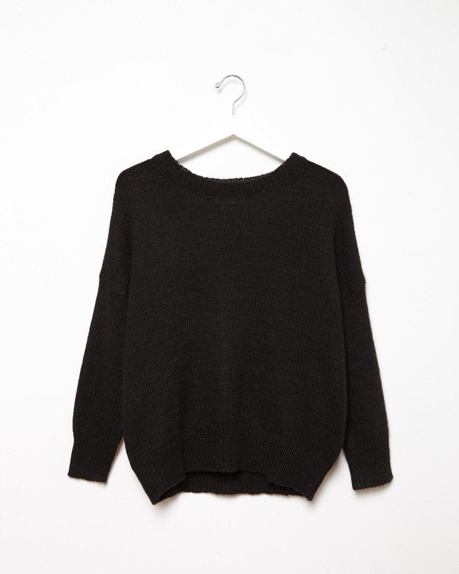 toile isabel marant risha alpaca pullover in black lyst. Black Bedroom Furniture Sets. Home Design Ideas