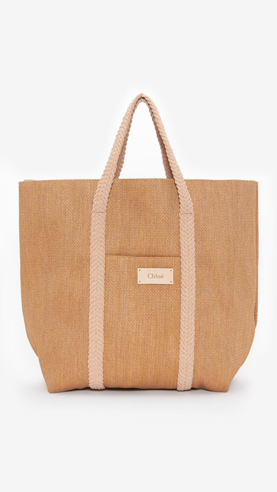 Chloé Beach Bag in Brown | Lyst
