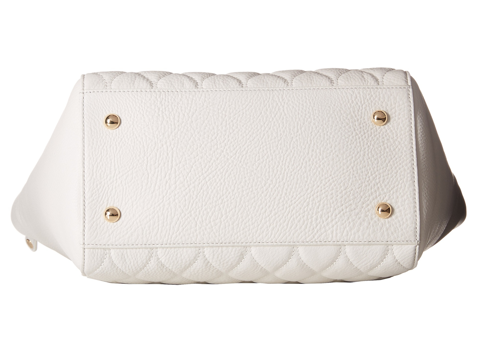 Lyst Vera Bradley Quilted Small Ella Tote In White