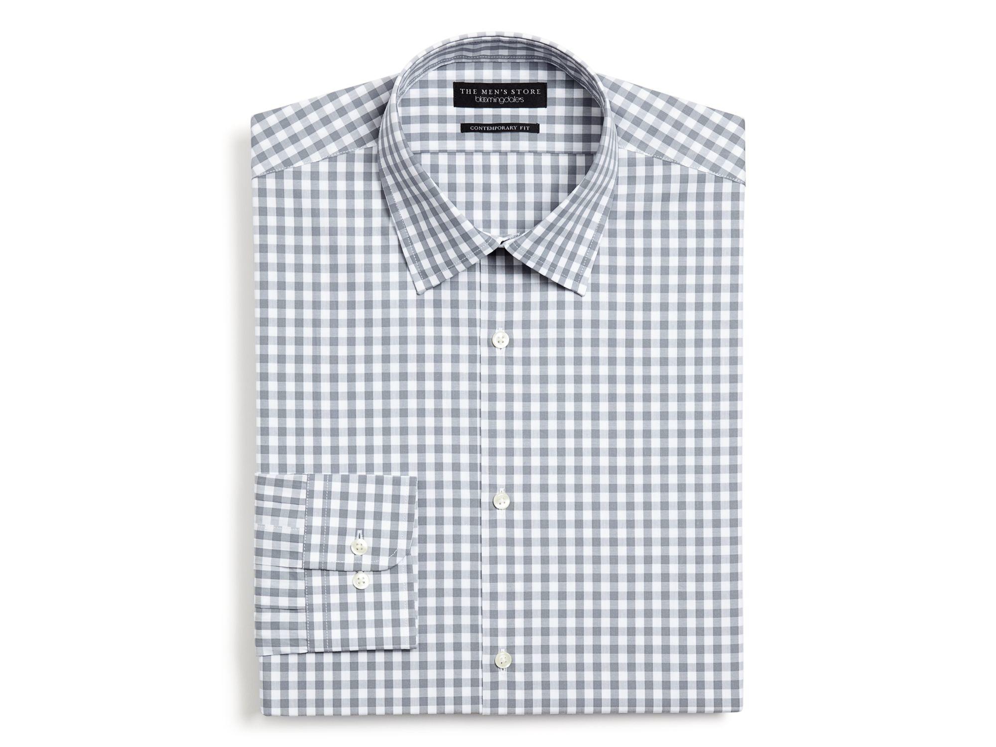 The Men 39 S Store At Bloomingdale 39 S Gingham Dress Shirt
