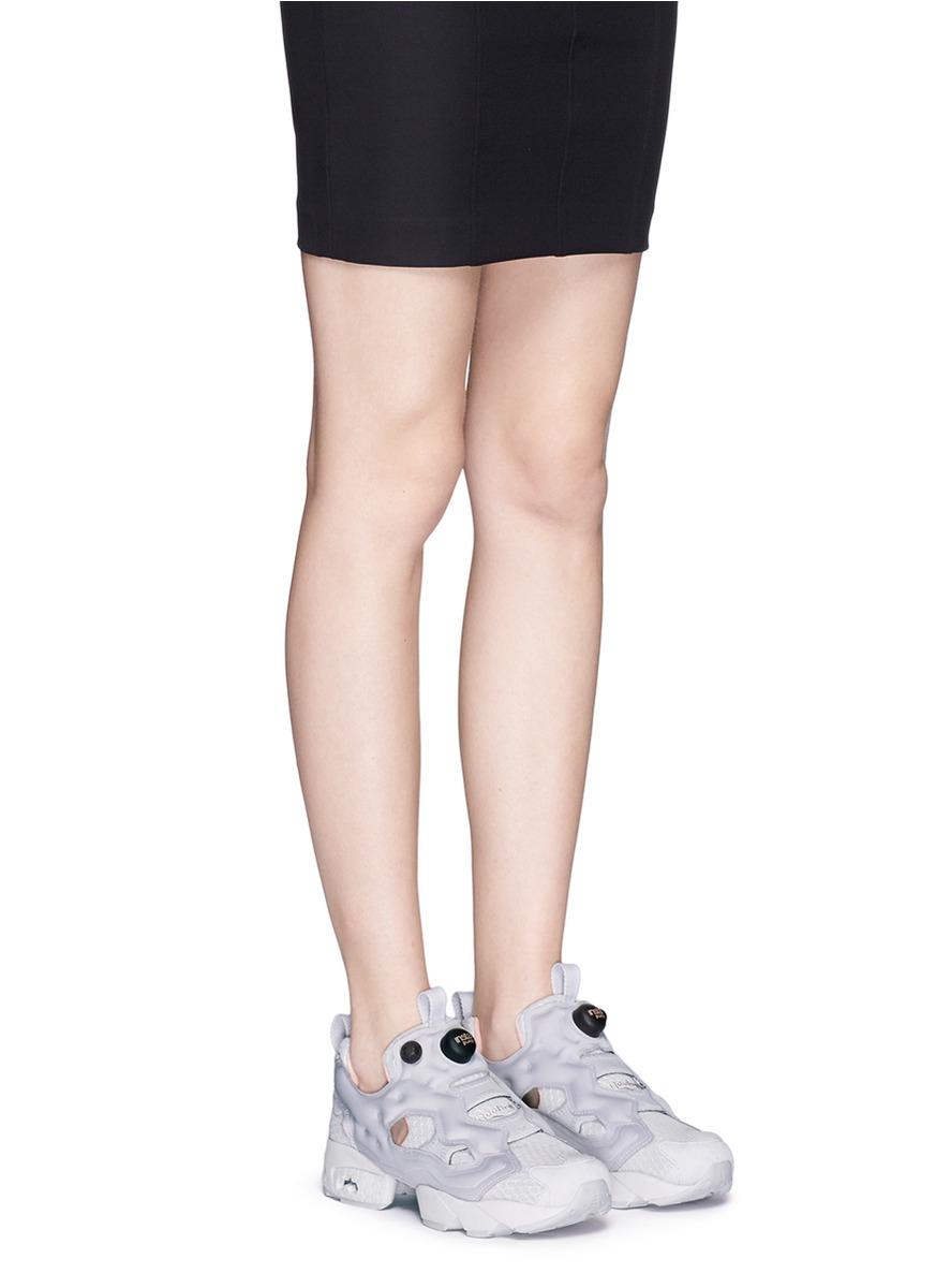 6e78a6d9ca4102 Lyst - Reebok  instapump Fury Clshx  Slip-on Sneakers in Gray