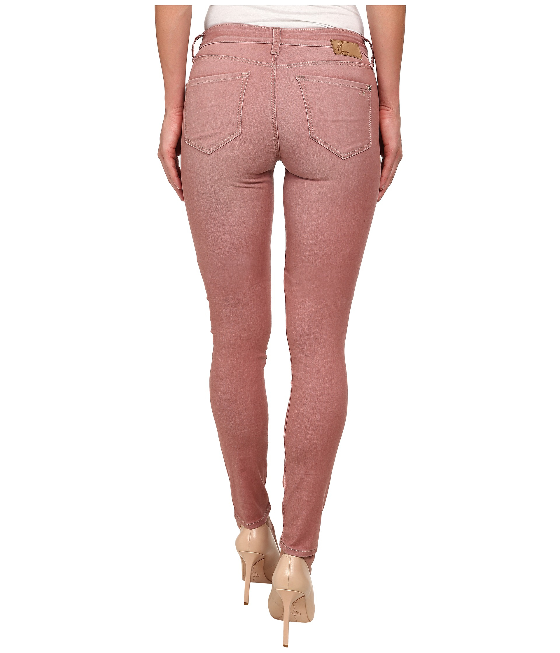 Mavi jeans Adriana Colored In Rose Vintage in Pink | Lyst