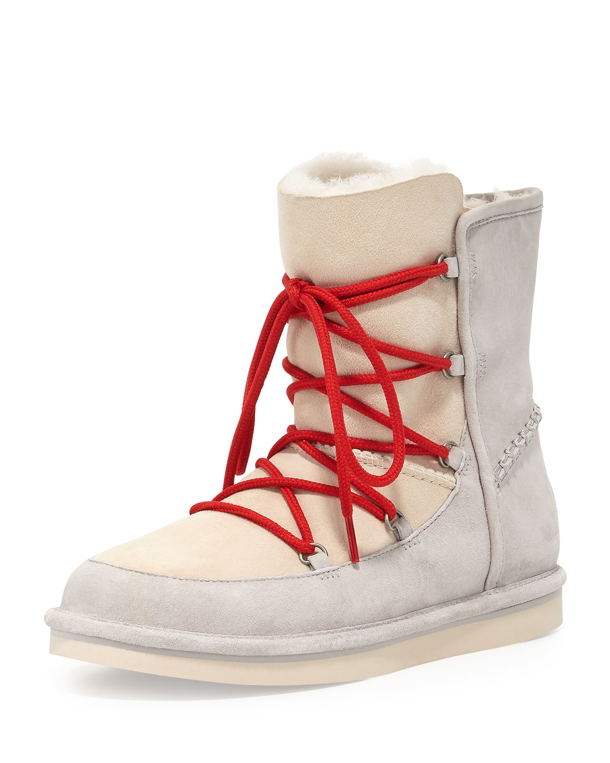 7aca44dd4b5 reduced red and white ugg boots b9764 d0d35