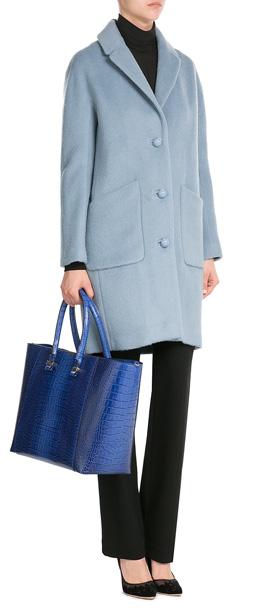 5d12116b14 Lyst - Tara Jarmon Coat With Wool