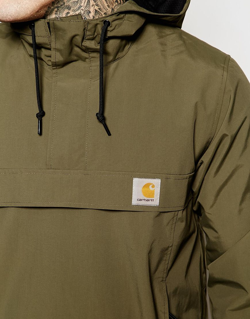 Carhartt Nimbus Hooded Pullover Jacket in Green for Men | Lyst