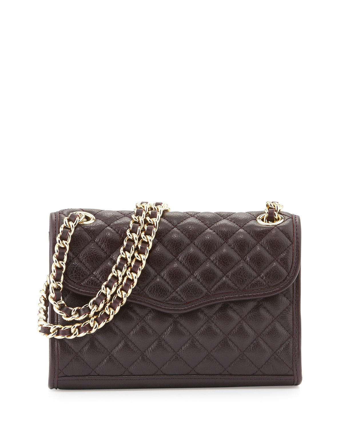 Rebecca Minkoff Quilted Affair Mini Shoulder Bag Black In