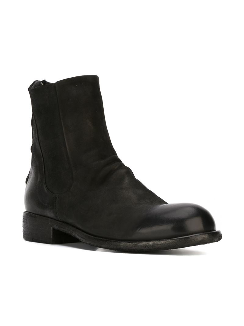 Lyst Officine Creative Hubble Boots In Black